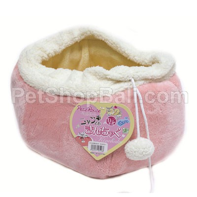 Cattyman Round Bed For Cat Pink (#58126)