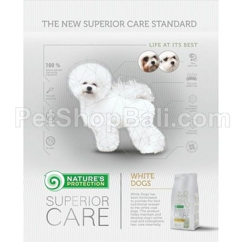 Nature's Protection Dog White Dogs 1,5kg
